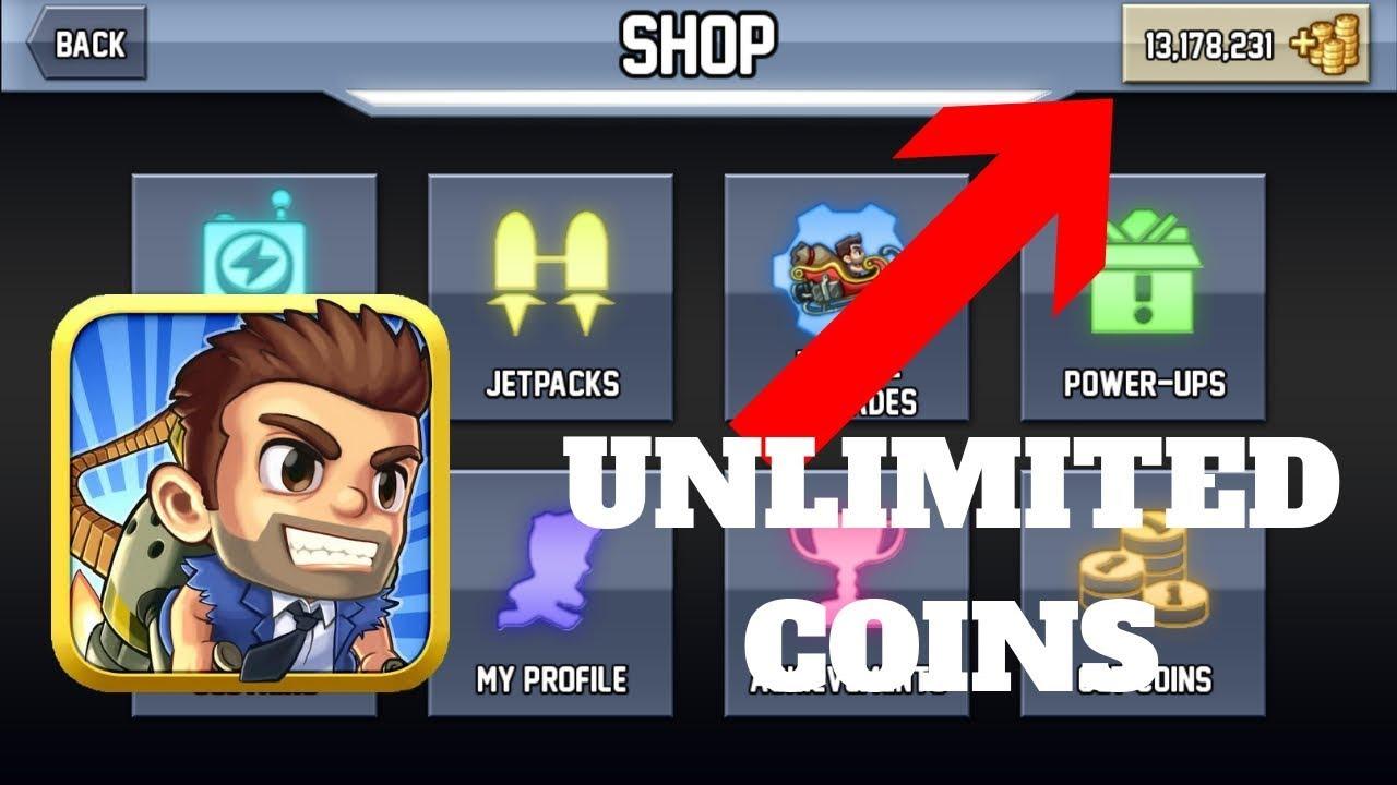 jetpack joyride unlimited coins hack proof
