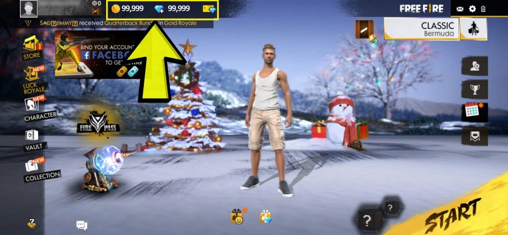 free fire diamonds hack proof
