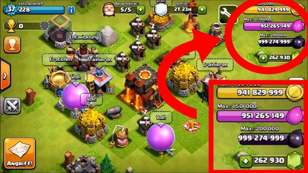 Clash of Clans Free Gems Hack 2017