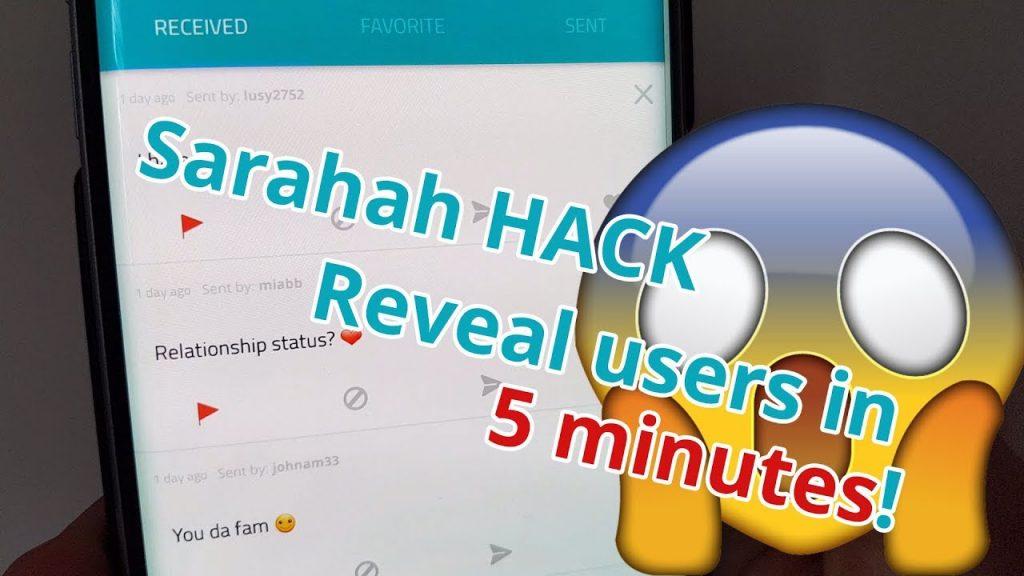 Hack Sarahah Online