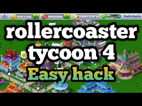 Roller Coaster Tycoon 4 Hack