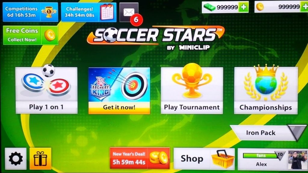 Soccer Stars Hack Tool 2017 Without Human Verification