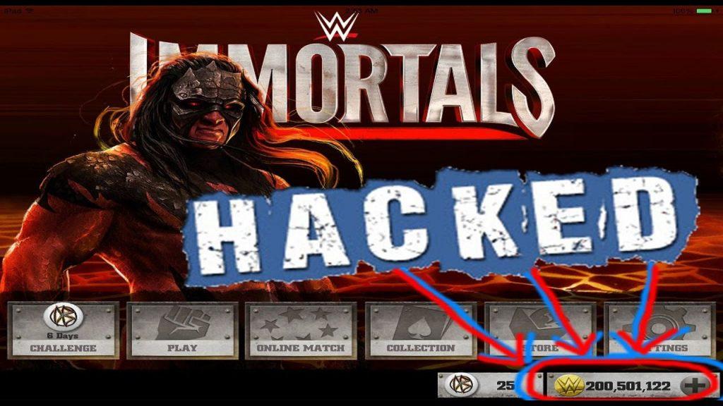 WWE Immortals Hack No Survey