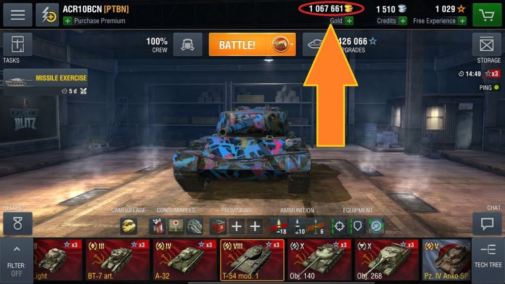 World of Tanks Blitz Hack No Human Verification