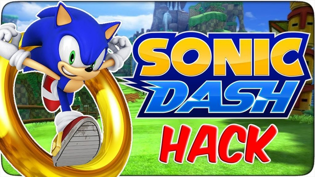 sonic dash hack unlimited red rings